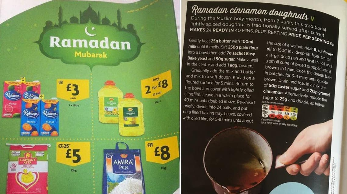 As Ramadan becomes an annual fixture and calendar event for leading supermarkets, meat, rice and fruit have emerged as popular food item purchases during the fasting season. (Twitter)