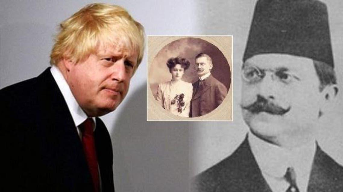 بوريس جونسون، حفيد لتركي كان أبوه وزيرا زمن السلطنة العثمانية