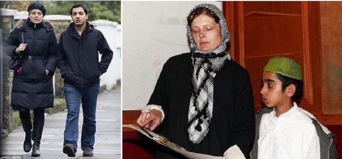 زوجة بوريس جونسون الأولى، ترعى الأطفال تطوعا في مسجد بلندن، بعد طلاقها منه وزواجها من مسلم