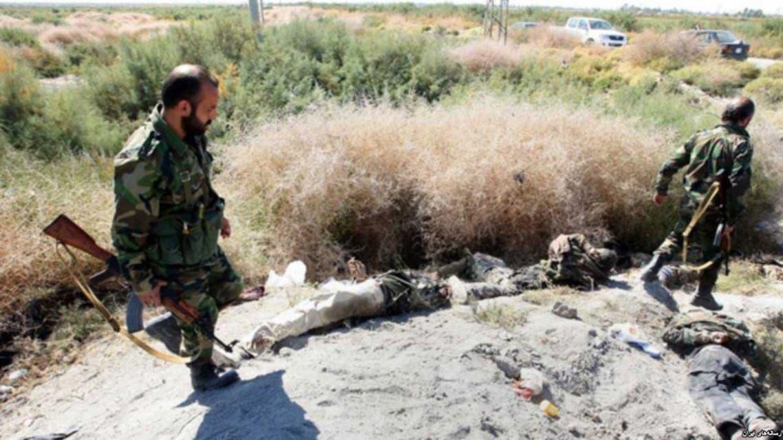من مواجهات الحرس الثوري والأكراد قبل اسبوعين نشرتها وسائل اعلام ايرانية