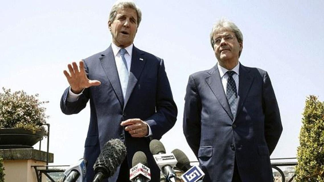 Kerry in Italy