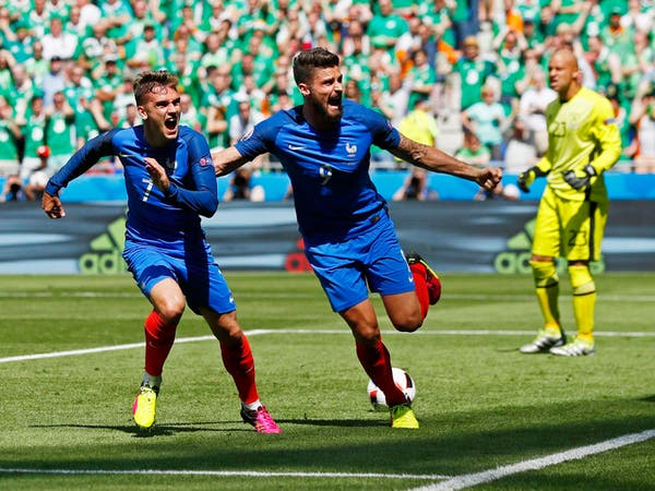 غريزمان يقود فرنسا إلى ربع نهائي كأس أوروبا