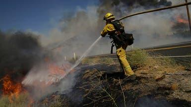 حرائق كاليفورنيا تتمدد.. وإغلاق مدارس