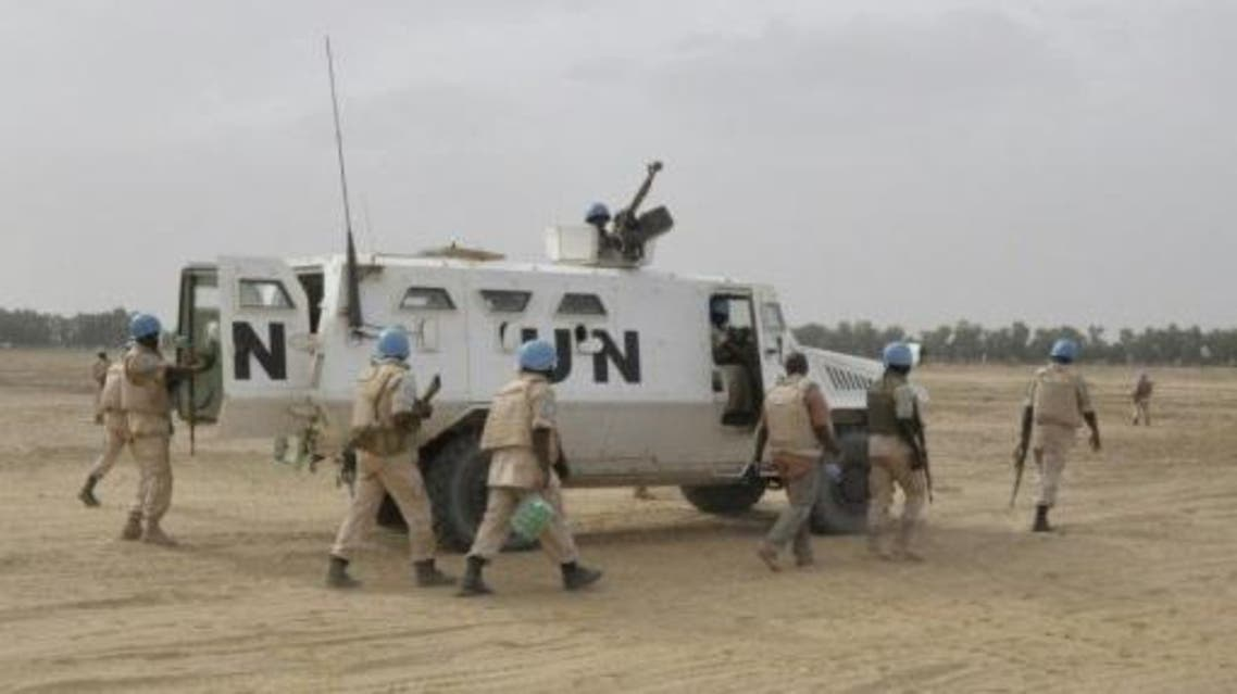 """The head of Islamist group Ansar Dine has released his first video in 22 months, singling out a violent protest in northeastern Mali against French forces and the UN peacekeeping misson as a way to confront """"the crusaders' military machine"""". (File photo: AFP)"""