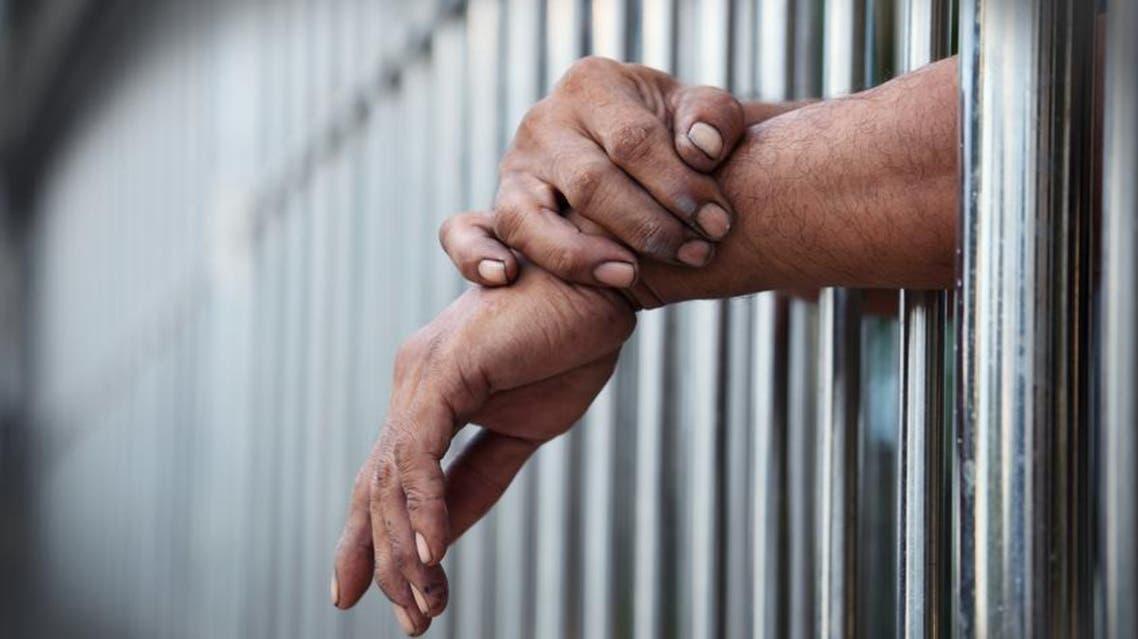 السجن سجن قضبان الحكم بالسجن