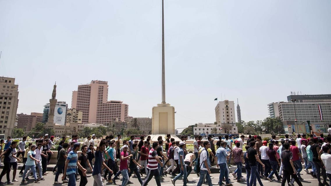 Hundreds march in Egypt over cancelled high school exams