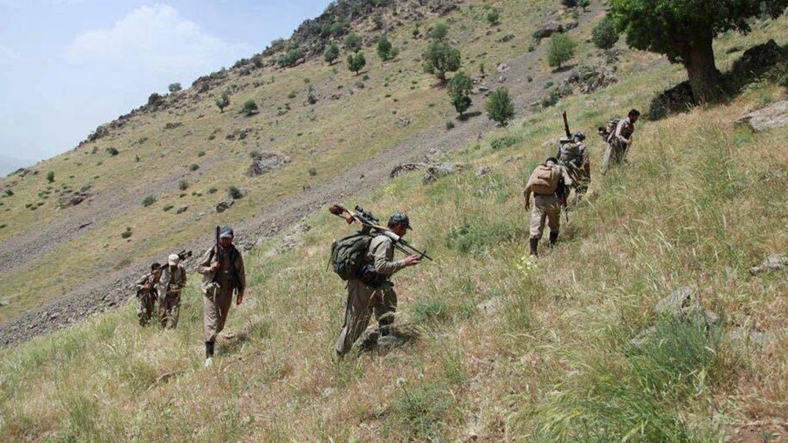 بيشمركة الحزب الديمقراطي الكردستاني الايراني