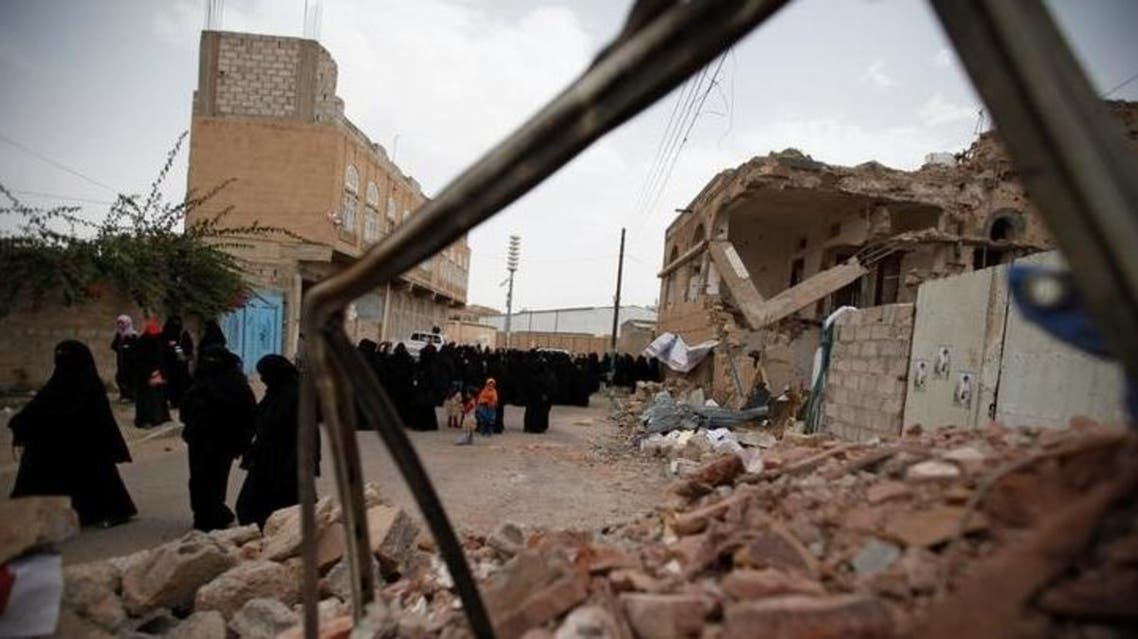 Yemen bomb blast scene (Reuters)