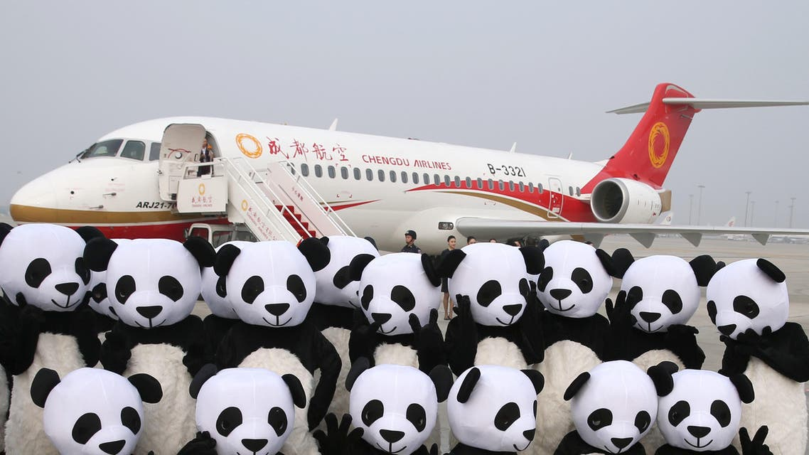 The ARJ21-700 jet is one of a series of initiatives launched by the ruling Communist Party to transform China