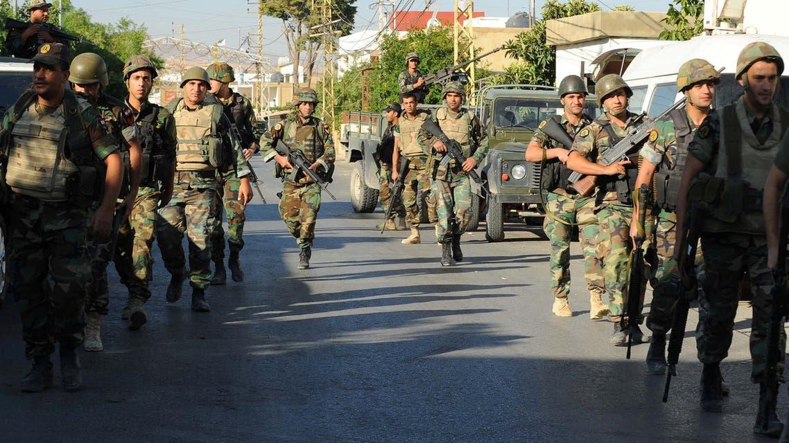 الجيش اللبناني ينتشر في بلدة القاع التي شهدت تفجيرات أمس لبنان ارهاب