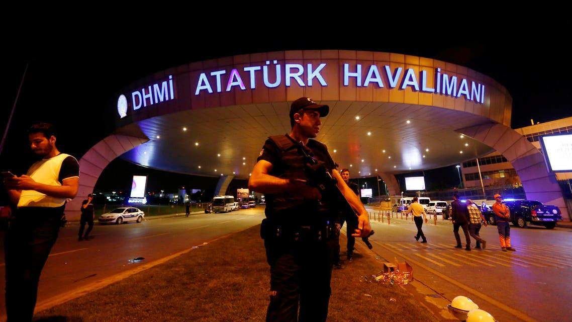 مطار أتاتورك اسطنبول تفجير
