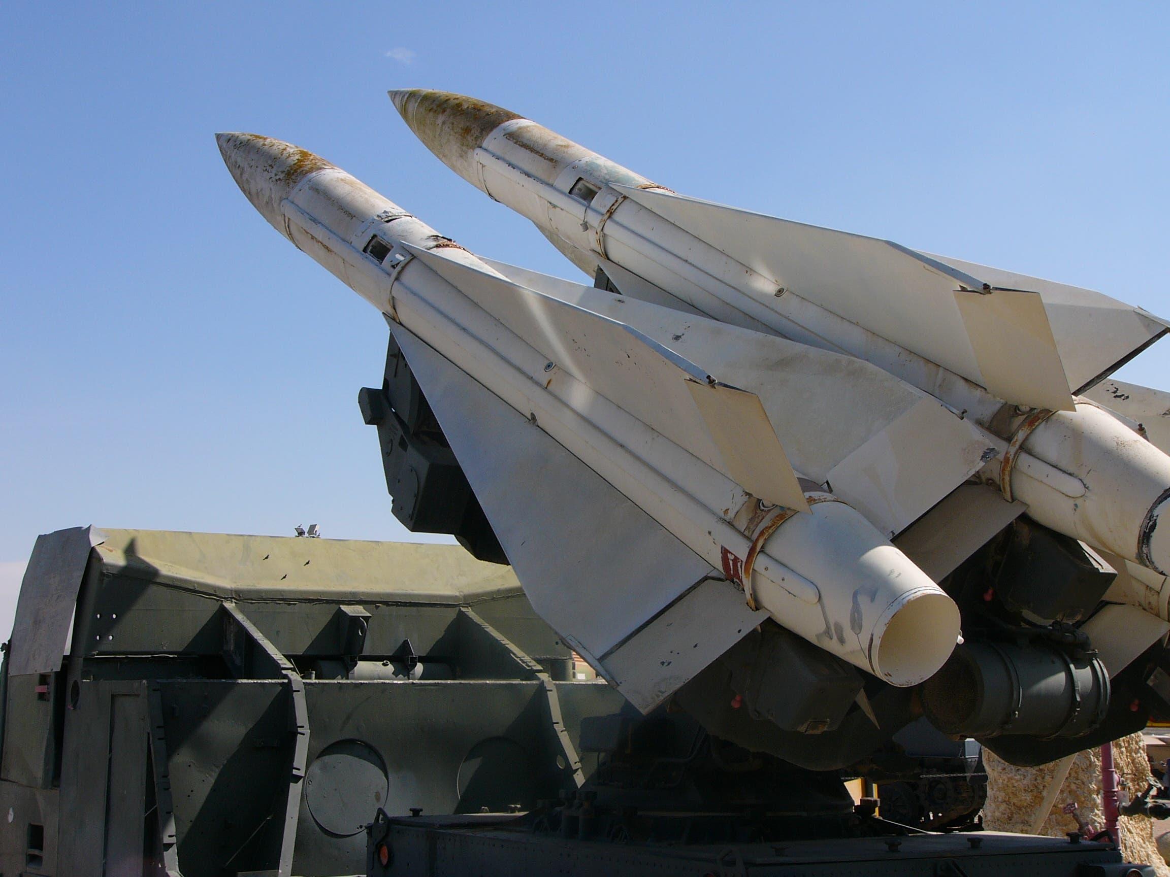 صواريخ إسرائيلية مضادة للطائرات