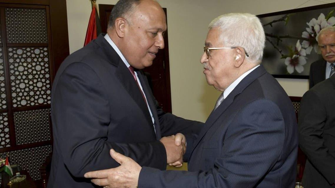 محمود عباس سامح شكري وكالة وفا