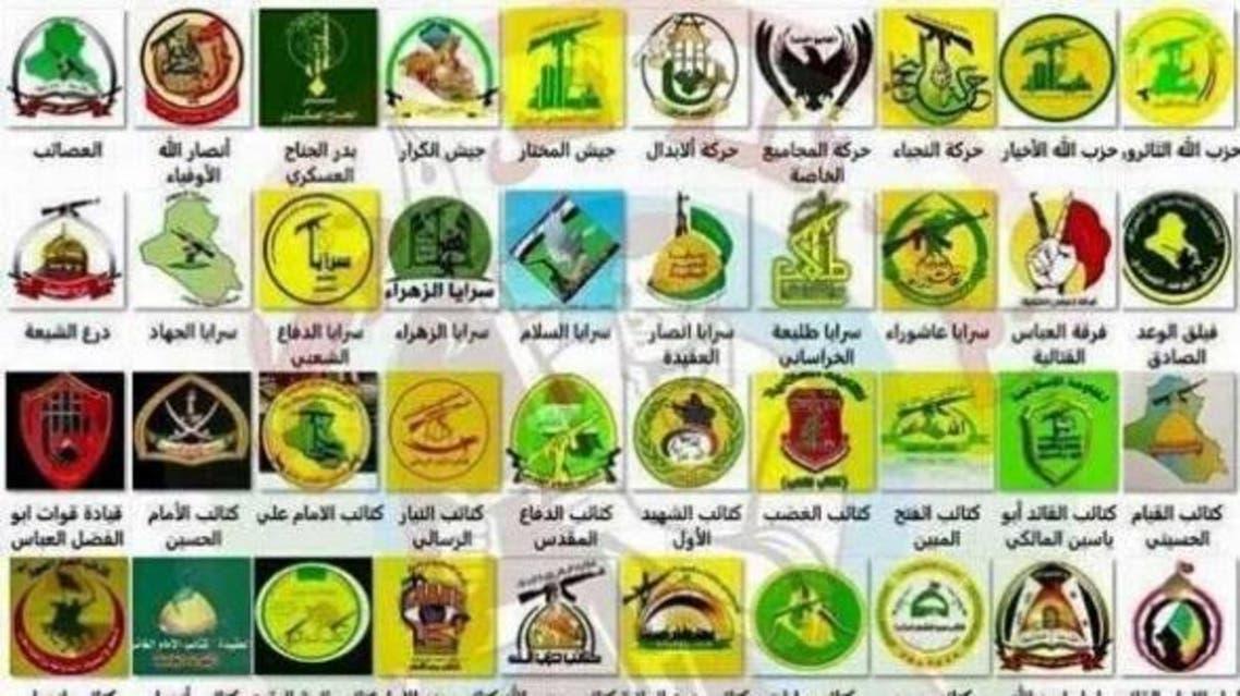 الميليشيات الارهابية التي تدعمها ايران