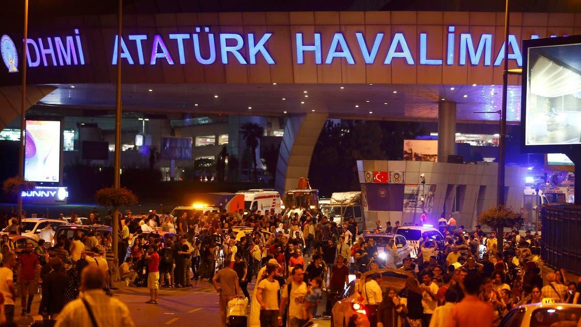 مطار اتاتورك تفجير