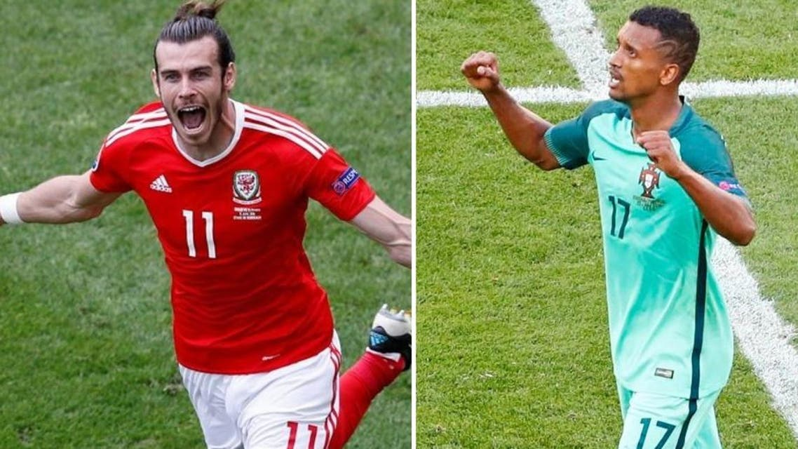 Portugal have used Nani - ordinarily a winger - as a striker, while Wales have also taking to using Gareth Bale as the focal point of their attack. (Reuters)