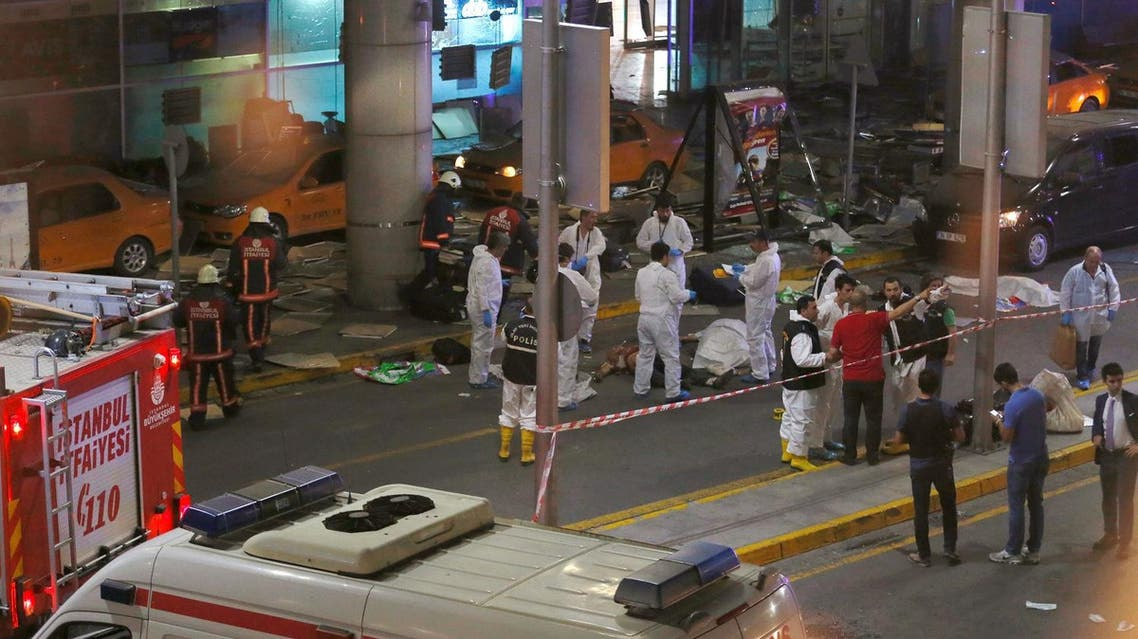 Deadly blasts rock Istanbul airport