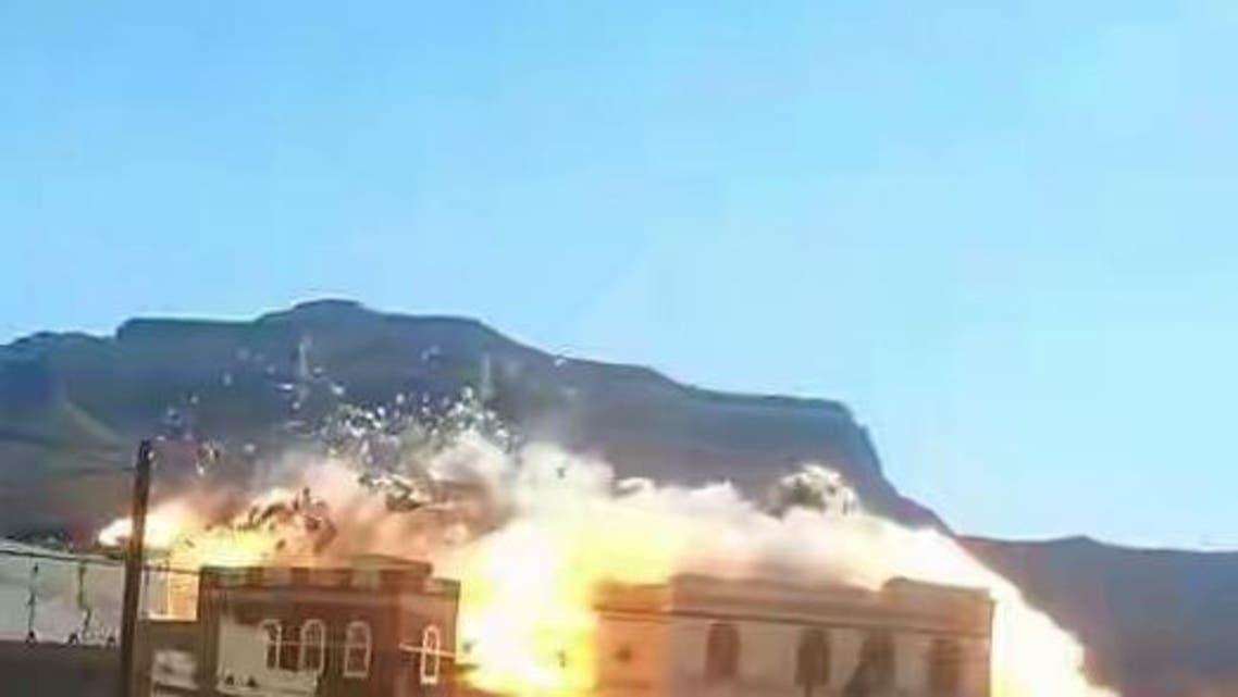 ميليشيا الحوثي تدمر منازل رجال المقاومة بصنعاء