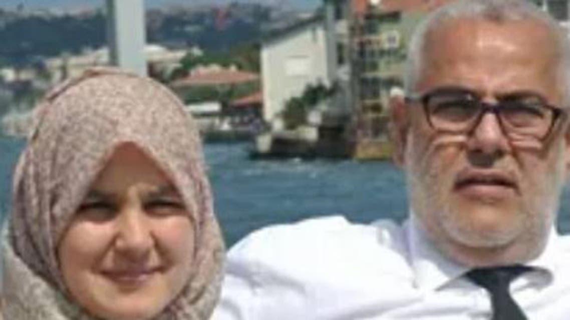 رئيس الحكومة  المغربية ونجلته سمية