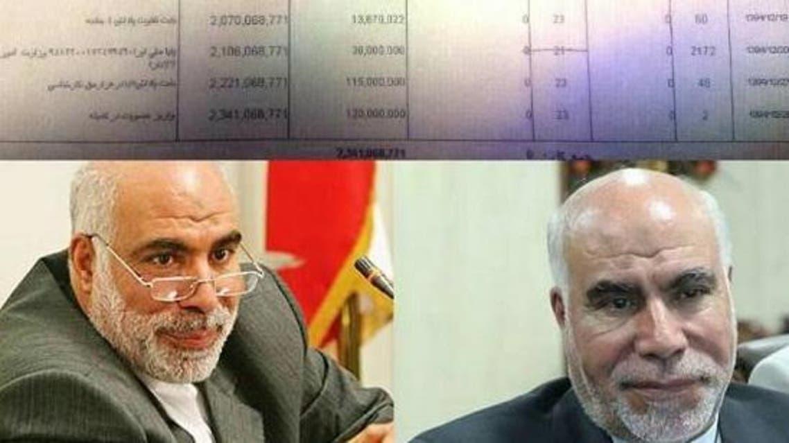 ايصال راتب مدير بنك رفاه الذي يتقاضى 70 ألف دولار شهريا