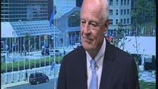 De Mistura hopes Syria talks resume in July