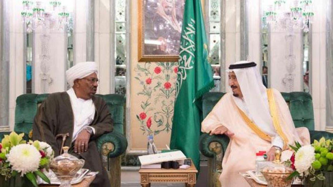 king salman receives sudanese president (SG)