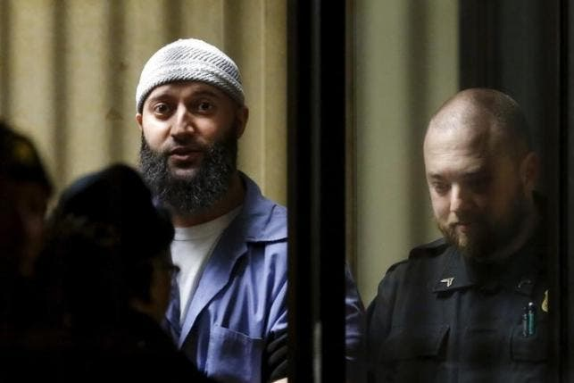 Convicted murderer Adnan Syed leaves the Baltimore City Circuit Courthouse in Baltimore, Maryland February 5, 2016. (Reuters)