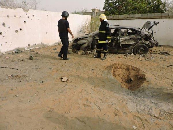 سقوط مقذوف بالطوال وإصابة 5 سعوديين