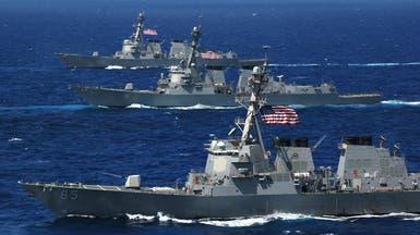احتكاك بحري جديد بين سفن حربية أميركية وروسية بالمتوسط