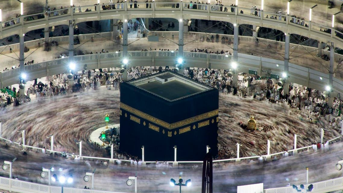 Muslim pilgrims circumambulate the Kaaba, the cubic building at the Grand Mosque (File Photo: AP)