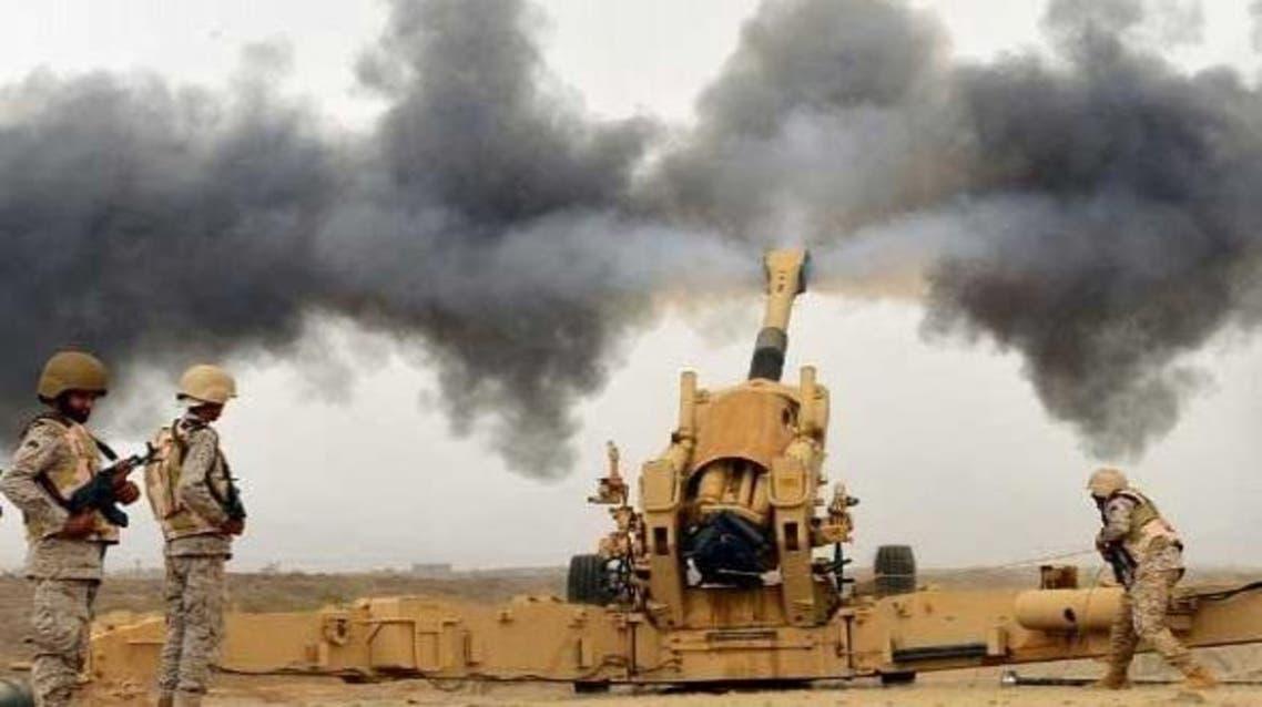 المدفعية السعودية القوات السعودية جازان