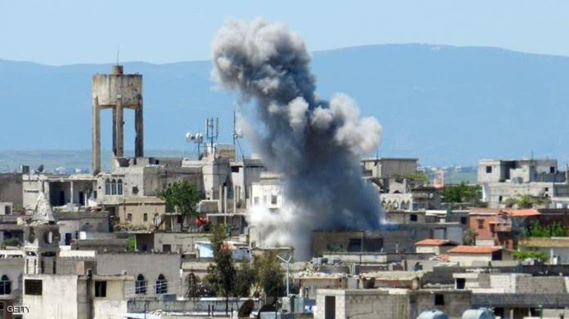 القلمون قصف 3 سوريا