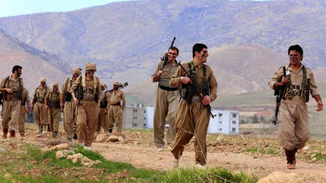 بيشمركة حزب الديموقراطي الكردستاني الإيراني