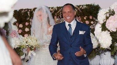 في حفل أسطوري.. رجل أعمال مصري يتزوج صديقة جاستن بيبر