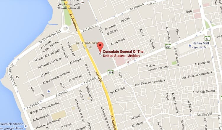 Saudi Forces Foil July Th US Consulate Attack Al Arabiya English - Us embassy in yemen map
