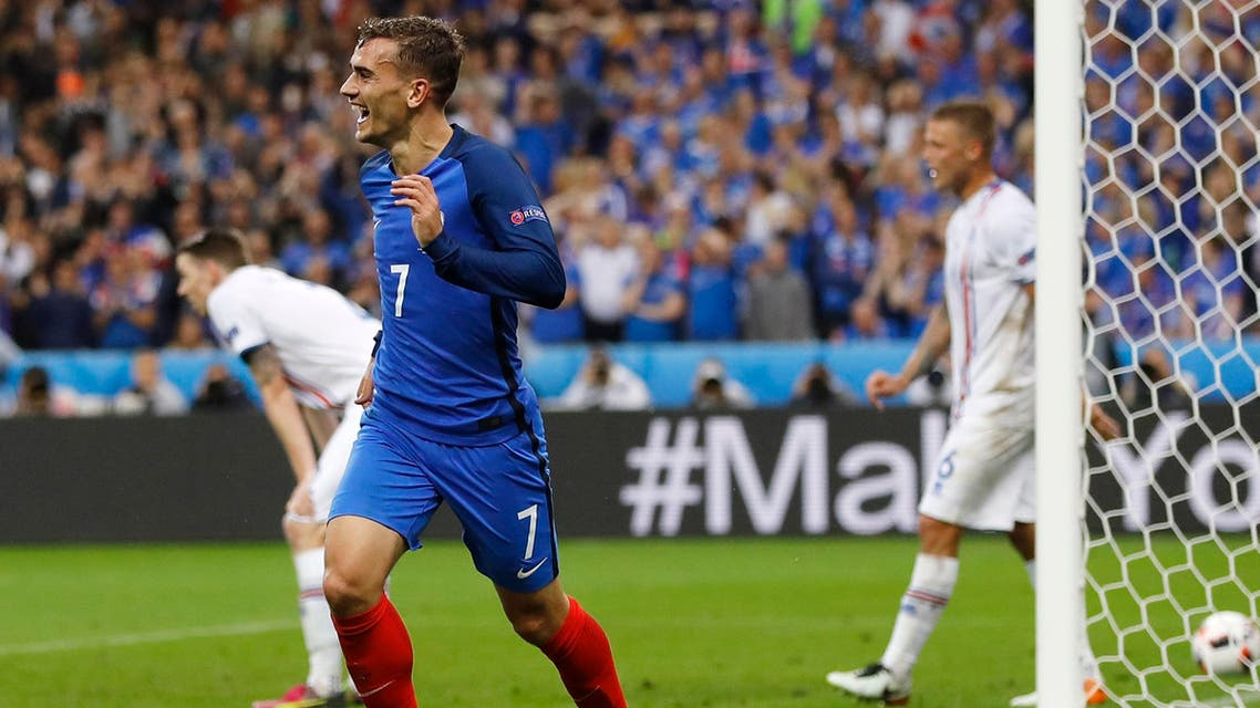 The 25-year-old forward scored with an excellent finish and set up two more goals as France swatted aside Iceland 5-2 on Sunday. (AP)