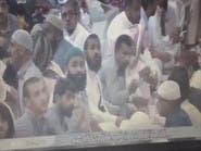 شاهد دهشة الصائمين لحظة التفجير بجوار الحرم النبوي