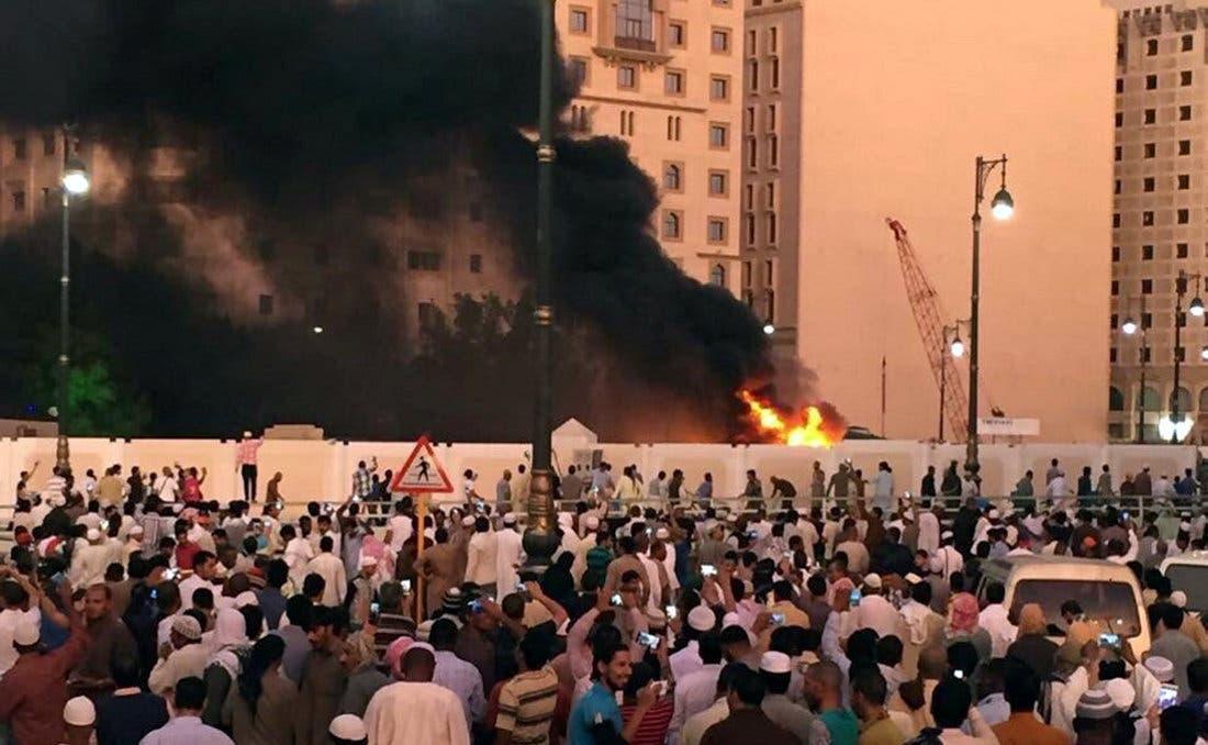 انفجار انتحاری در نزدیکی مسجد نبوی در مدینه