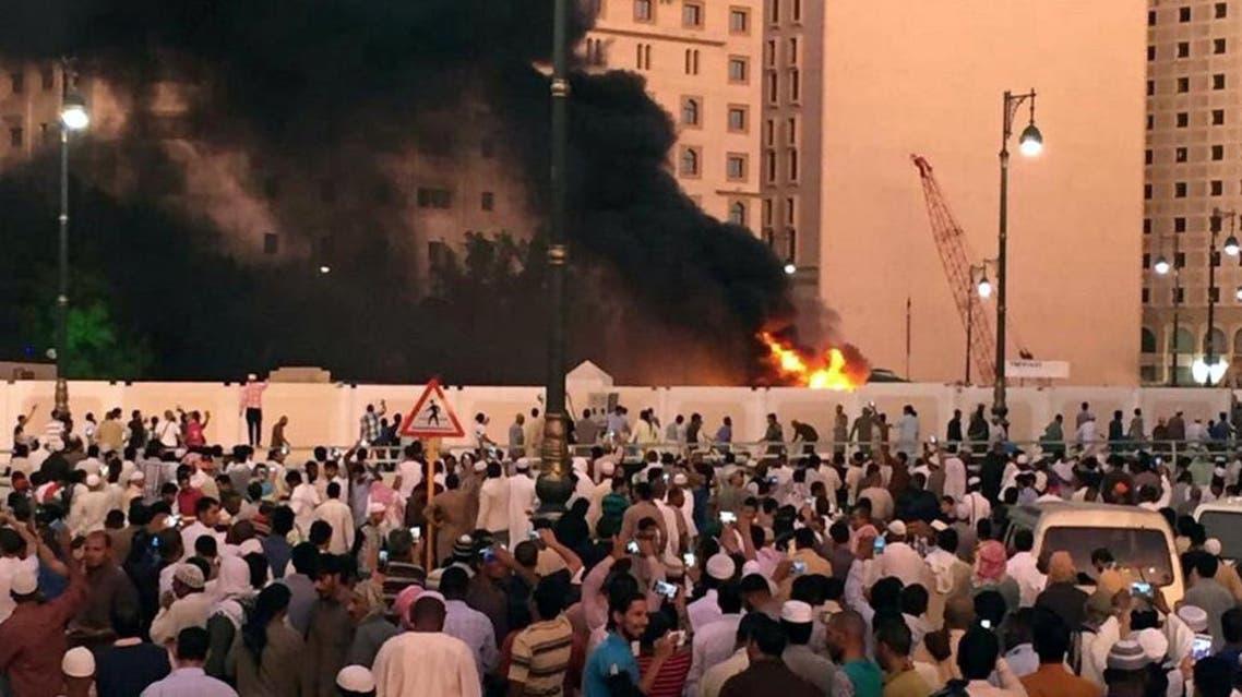 تفجير انتحار الحرم النبوي المدينة المنورة السعودية