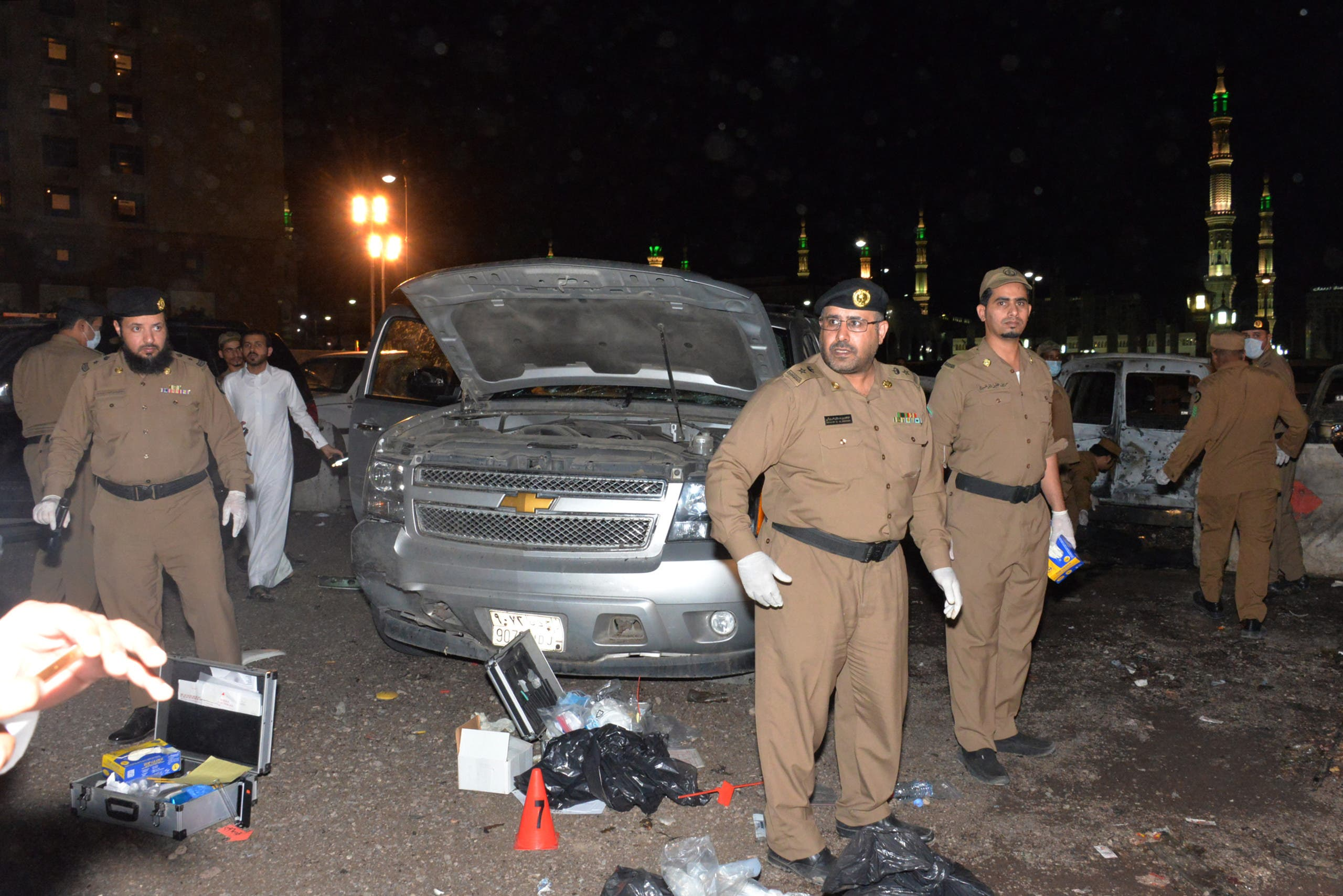 هجوم إرهابي سابق في السعودية
