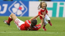 UEFA asks players to keep their children off the grass