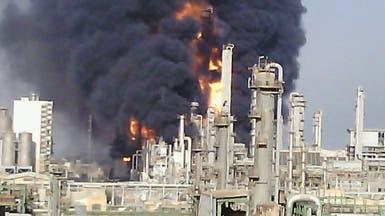 إيران.. انفجار هائل في  أكبر مجمع للبتروكيماويات