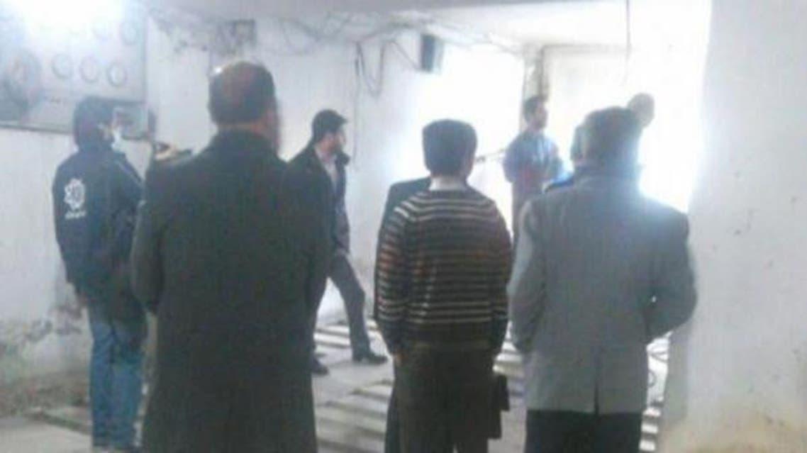 عناصر البلدية يقومون بهدم المصلى الوحيد للسنة في طهران في يوليو 2015