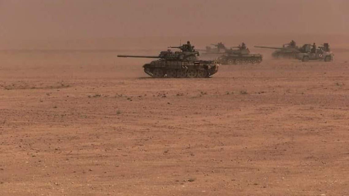 دبابات جيش النظام السوري سوريا