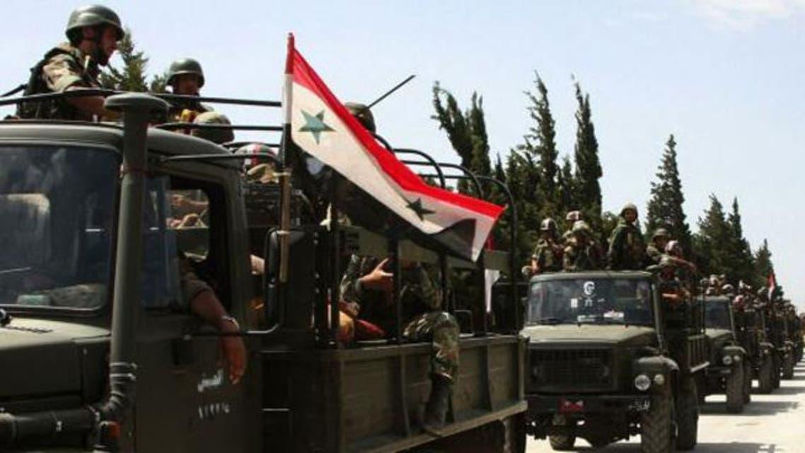 جنود جيش النظام السوري سوريا
