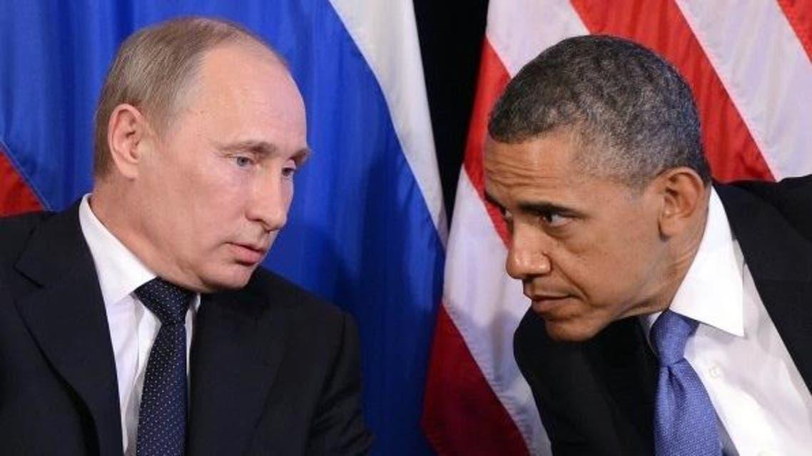 أوباما بوتين حدث