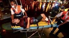 21 hurt in Taiwan train blast