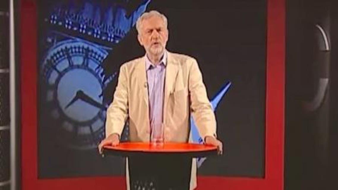 زعيم حزب العمال البريطاني جيرمي كوربن على برس تي في