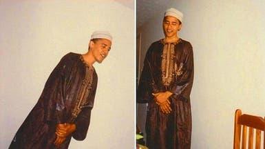 """صور لأوباما """"المسلم بالسر"""" تظهر لأول مرة في أميركا"""