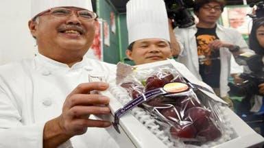 عنقود عنب من 30 حبة يباع بـ11 ألف دولار في اليابان